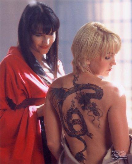 Xena y Gabrielle