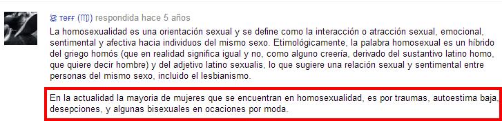 Porque hay tantas chicas lesbianas o bisexuales